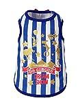 ドギーシェイク サーカスクールタンク ブルー Mサイズ(1枚入)