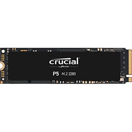 Crucial CT1000P5SSD8 SSD Interne P5 1To (3D NAND, NVMe, PCIe, M.2, 2280SS)