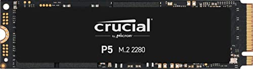 Crucial P5 500Go CT500P5SSD8 Internes SSD-jusqu'à 3400 Mo/s (3D NAND, NVMe, PCIe, M.2, 2280SS)