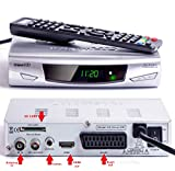 UK FULL HD Freeview Receiver + HD Recorder by USB & SD Card