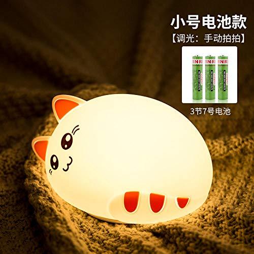 Chambre Lampe Veilleuse Lampe de chat en silicone pour chat Kitty + télécommande veilleuse enfant idee cadeau ado fille