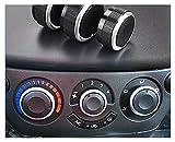 FENGFENG Sun Can Ajuste para Chevrolet Chevy T250 Aveo Aveo5 Lova 250 Daewoo Gentra CA AC Acondicionador de Aire Acondicionador de Aire Control de Control de Clima Botones de mandos