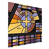Canvas Prints Wall Art Paintings(20x20in) Star Trek Coordinate Map Pictures Home Office Decor Framed Posters & Prints