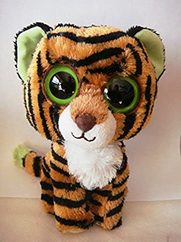 TY UK 6-inch Stripes Beanie Boo Plush by Ty Stripes Beanie Boo 6