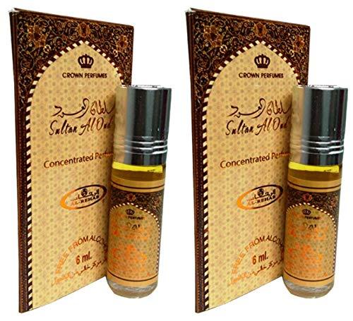 almizcle Perfume al Rehab Sultan Al Oud 6 ml 100% aceite