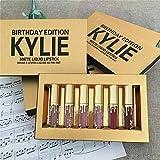 Kylie Cosmetics Jenner Lips Gloss Matte Liquid Lipstick Birthday Edition Gift Set (6 Colors)