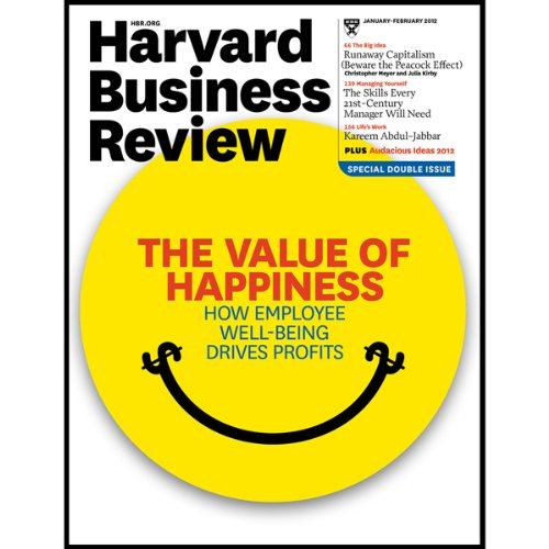 Harvard Business Review, January 2012 copertina
