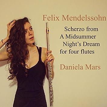 A Midsummer Night's Dream, Op. 61: I. Scherzo (Arr. for Flute Quartet)