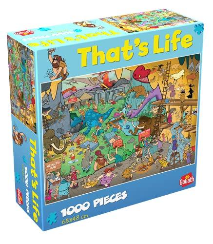 Goliath- Puzzle Prehistoria That's Life, Multicolor (919264006)