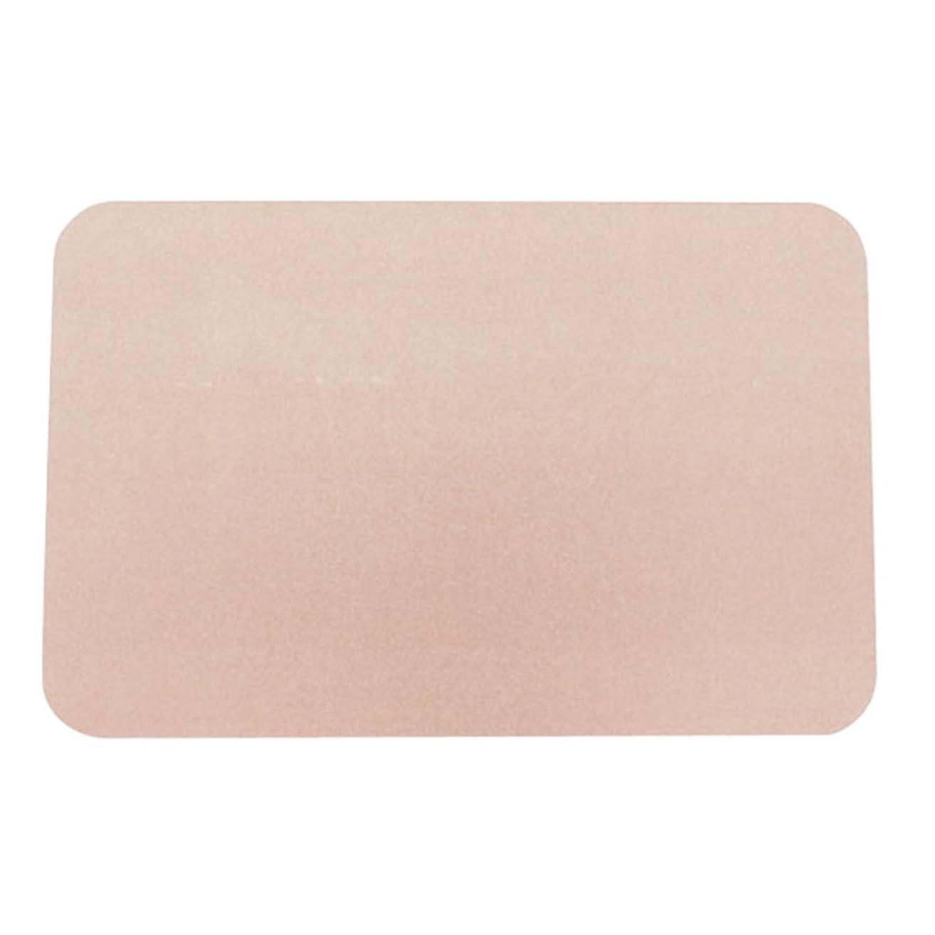 予知宿題選択するヒロ?コーポレーション 珪藻土バスマット ピンク Mサイズ 幅45×高さ35×奥行0.9cm