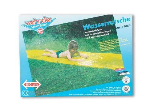 Wehncke - 2058400 - Toboggan Aquatique - Jaune - 610 X 80 Cm