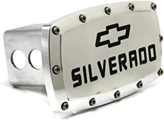 Chevrolet Silverado Billet Aluminum Tow Hitch Cover