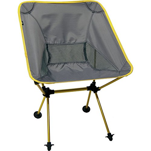 Travelchair Joey Chair, Portable Camping Chair, Super Compact Storage, Yellow