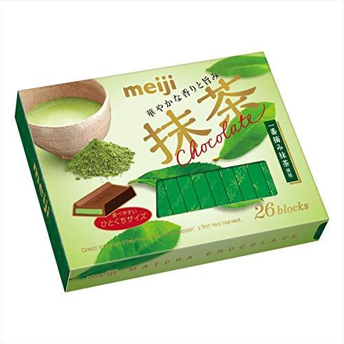明治 抹茶チョコレートBOX 26枚