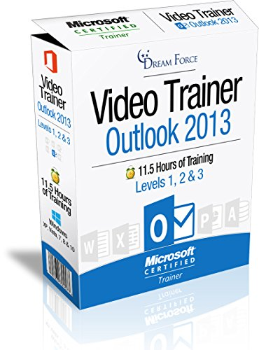 Outlook 2013 Training Videos – 11.5 Hours of Outlook 2013 training by Microsoft Office: Specialist, Expert and Master, and Microsoft Certified Trainer (MCT), Kirt Kershaw