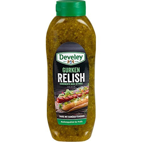Develey Gurken Relish, 1er Pack (1 x 953 g)