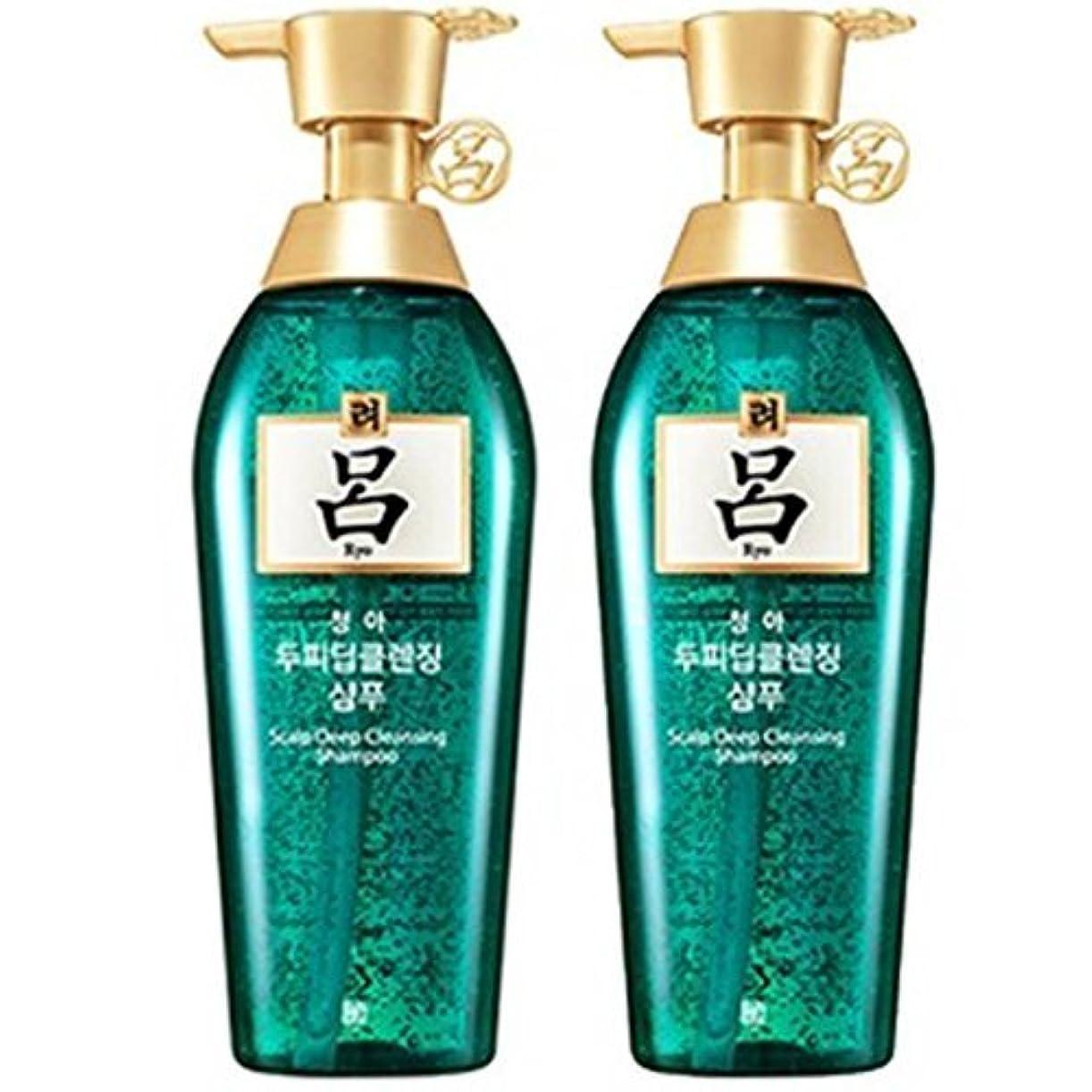 石鹸南西心配[RYO/呂/リョ] 清雅頭皮 ディープ クレンジング 企画セット(シャンプー/400mlX2ea)/Cheong ah Scalp Deep Cleansing Shampoo