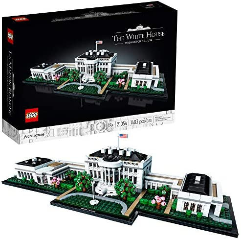 LEGO Architecture Collection The White House 21054 Model Building Kit Creative Building Set product image