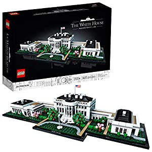 LEGO Architecture Collection: The White House 21054 Model Building Kit, Creative Building Set for Adults, A Revitalizing… - 51WRGhlmY L - LEGO Architecture Collection: The White House 21054 Model Building Kit, Creative Building Set for Adults, A Revitalizing…