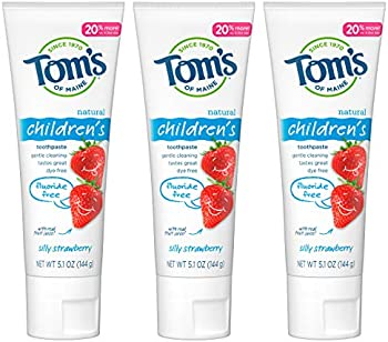 3-Pack Tom's of Maine Fluoride-Free Children's Toothpaste