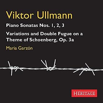 Viktor Ullmann: Piano Sonatas 1 - 3