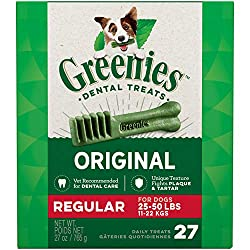 Greenies Chews for puppies and dogs teeth!