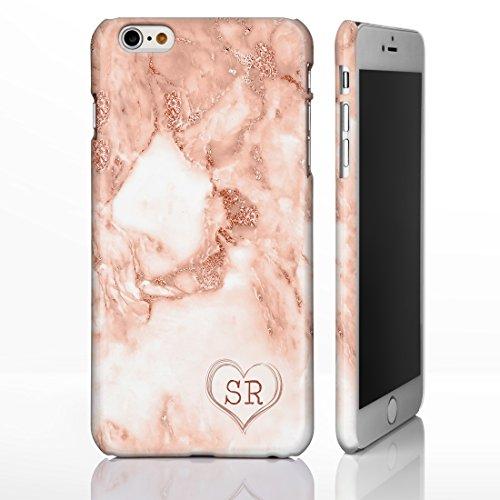 Schutzhülle für iPhone 7+ Plus / 8+ Plus, personalisierbar, Motiv 13: Pfirsichfarben