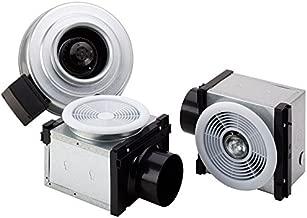 Fantech PB 270L10-2 270 CFM Dual Grille Bath Fan 10W Dimmable LED Lights, Uses 4
