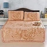 HOLITU Verano Seda Hielo Colchoneta,Suave Plegable Colchón Dormir Mat de Aire Acondicionado Antideslizante Lavable - para...
