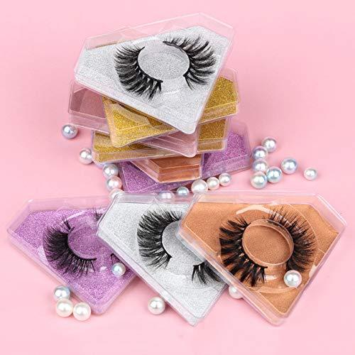 Faux Superior Mink Eyelashes Set 4 30 Soft Eyela Inventory cleanup selling sale Handmade 50 100Pcs False