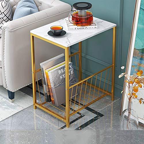 Mazu Homee Couchtisch Beistelltisch Modern Marmor Stil Tee mehrere Sand Bindung Couple Tisch Magazin Kaffee Kurztisch