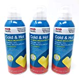 CVS Cold & Hot Medicated Spray 4 Oz (3 Pack)