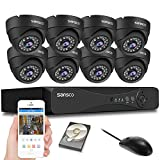<span class='highlight'>SANSCO</span> <span class='highlight'><span class='highlight'>1080P</span></span> 8 <span class='highlight'>Channel</span> <span class='highlight'>DVR</span> CCTV Security Systems w/2TB Hard Drive,(8)2.0 MP 1920x<span class='highlight'><span class='highlight'>1080P</span></span> Indoor/Outdoor Dome Camera (1920X1080 Mega-Pixel, P2P Technology, Night Vision, Vandal and Weather Proof Casing, Black)