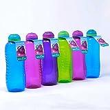 Twist n Sip Sistema Lot de 6 Bouteilles d'eau sans Bpa - 460 ml (Couleurs assorties)