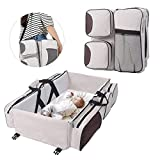 Lit de bébé portatif de voyage de couche-culotte de sac de couche-culotte de bébé avec le lit pliant de natte lit multifonctionnel pour 0-12 mois