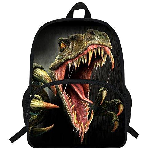 VEEWOW 16inch Cool Animal Bag Monster Dinosaur Backpack For Boys School Bag For Kids D944