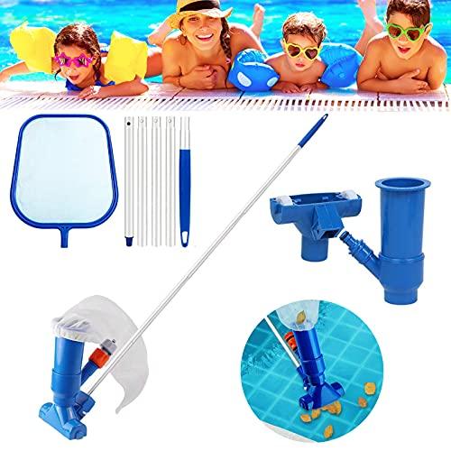 Akoemxeeo Pool Vacuum Cleaner, Portable Pool Maintenance Kit, Pool Skimmer...