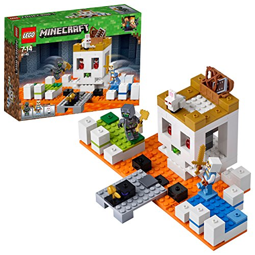 LEGO UK 21145 'The Skull Arena Building Set