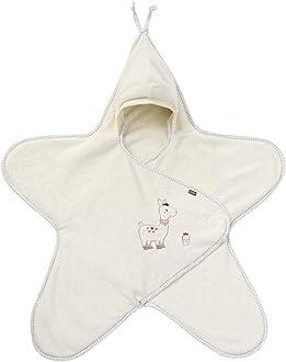 Autositz f/ür Babys von 0-6 Monaten Babytrage Fehn 058246 Einschlagdecke Peru // Kuschelige Babydecke mit Klettverschluss f/ür Kinderwagen Babybett