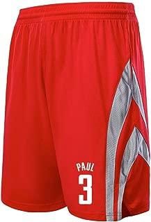 BUY-TO Pantalones Cortos de Baloncesto per Hombres Ropa Deportiva per Hombres Ropa de Entrenamiento Traspirabile Tama/ño m/ás Grande NBA #3 Heat Wade