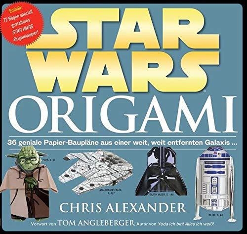 STAR WARS Origami: 36 geniale Papier-Baupläne aus einer weit, weit entfernten Galaxis...