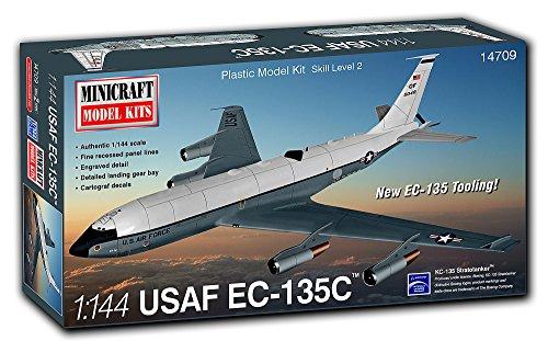 ミニクラフト 1/144 アメリカ空軍 EC-135C 空中指揮機 プラモデル MC14709