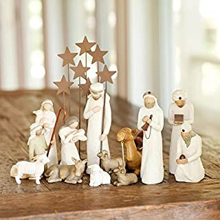 14 Pc. Willow Tree Nativity Package