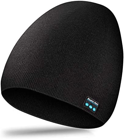 MIMIVIVA Bluetooth Beanie for Men Women Beanie Bluetooth Hat V5 0 Bluetooth Winter Hat with product image