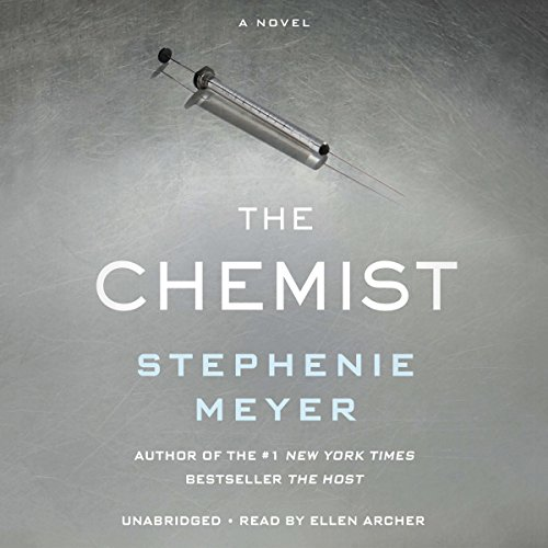 The Chemist                   By:                                                                                                                                 Stephenie Meyer                               Narrated by:                                                                                                                                 Ellen Archer                      Length: 17 hrs and 1 min     29,056 ratings     Overall 4.4