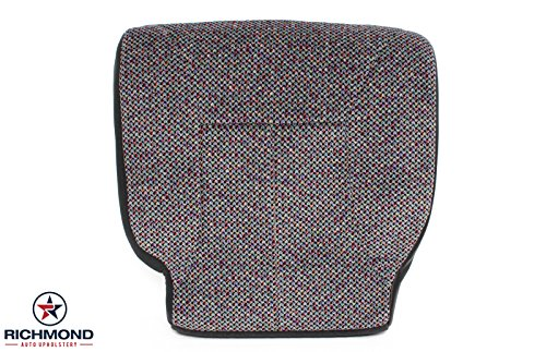 Richmond Auto Upholstery 1998 1999 2000 2001 2002 Dodge Ram 2500 Driver Side Bottom Replacement Cloth Seat Cover, Dark Gray