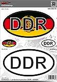 Aufkleber 2D 400004 Länderkennzeichen DDR