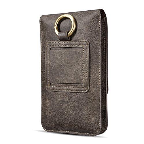 ケース スマホ 6.5インチ ベルト カードポケット 財布型 携帯便利 PUレザー 腰 ウエストポーチ ボディバッグ ワンショルダーバッグ 斜めがけ メンズ バッグ 男女共用 フィットネスバッグ ワンショルダー SIMPLE DO