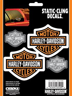 Best harley davidson window clings Reviews