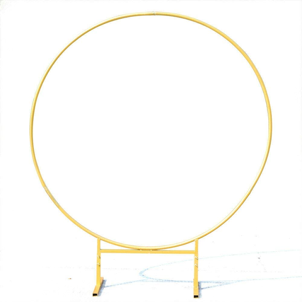 Round Arch Backdrop 2.4m Wedding Wrought Iron Props sale Super popular specialty store Decor